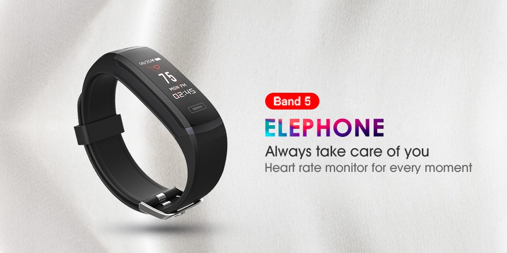 Elephone Ele Band 5 Better Than Xiaomi Mi Band 3