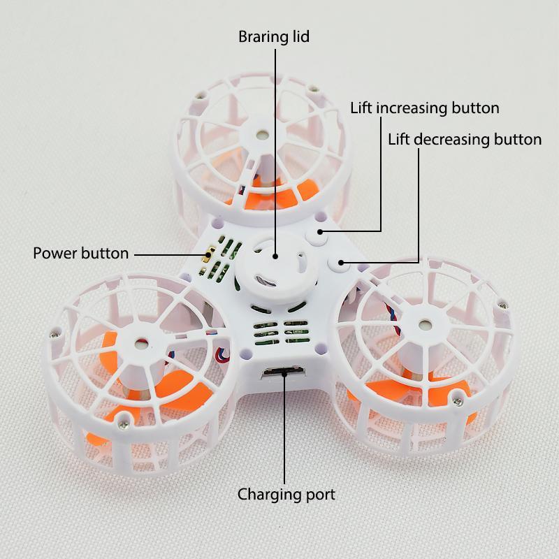 Fidget Spinner + Drone = Flying Fidget Spinner : Fidgettz F1
