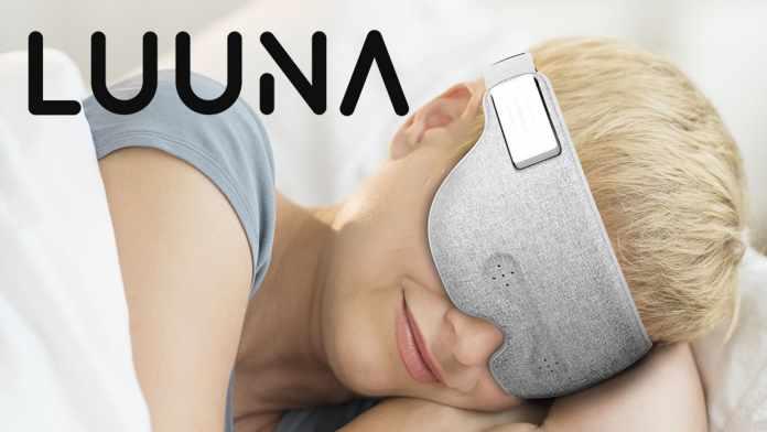 Luuna is the Smart Sleep Mask For Your Relaxing Night