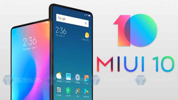 MIUI 10 Features List