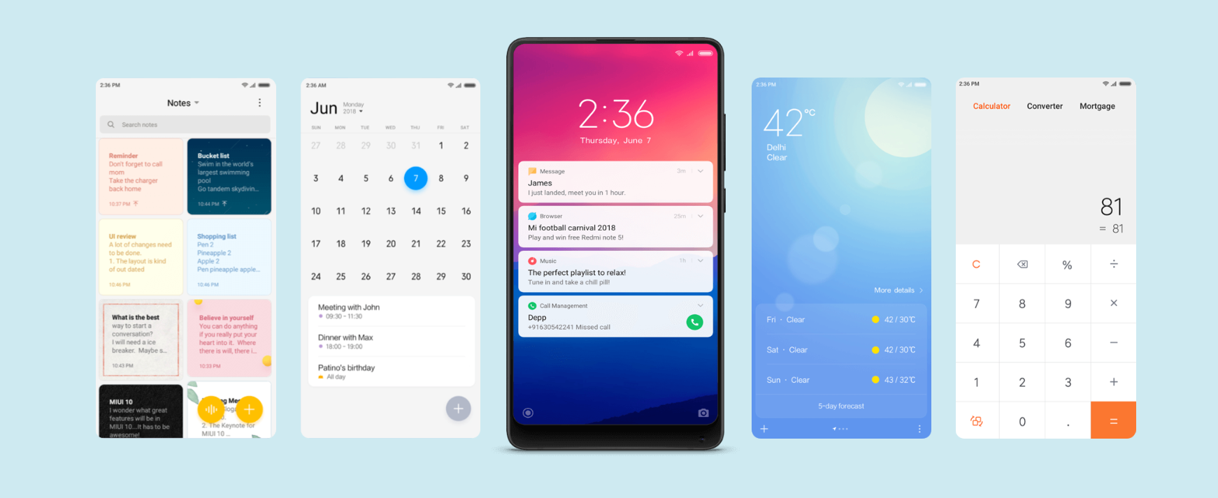 Mind-Blowing MIUI 10 Features List