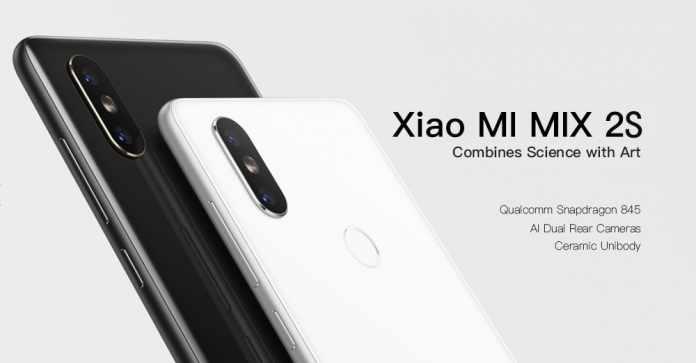 Xiaomi MI MIX 2S with 6GB RAM and 64GB ROM
