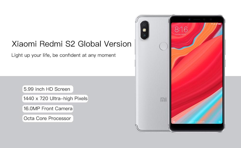 Xiaomi Redmi S2 with 3GB RAM & 32GB ROM
