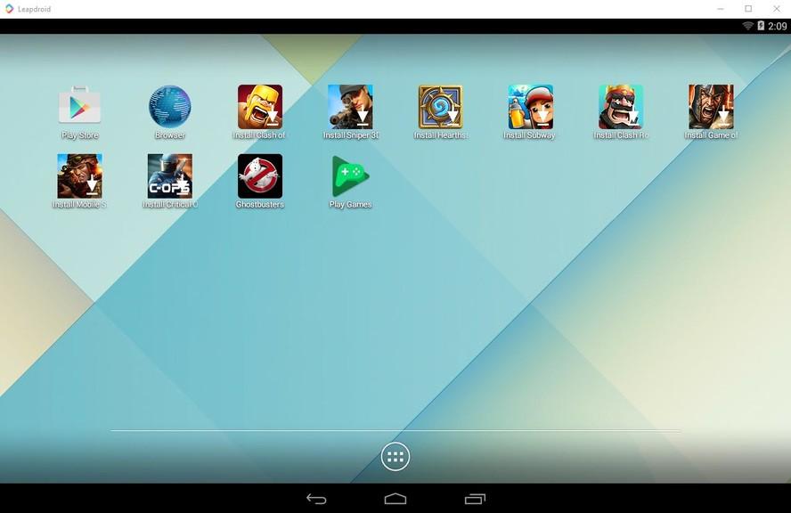 download leapdroid offline installer