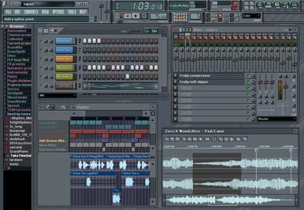 fl-studio-screenshot-FL Studio