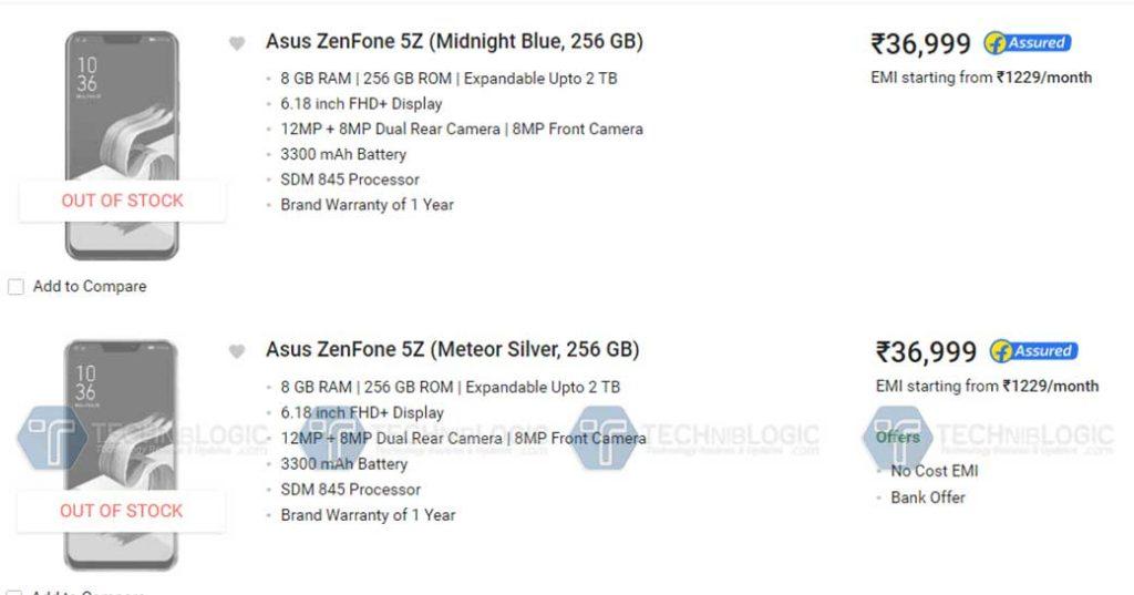 Asus-Zenfone-5z-Price-in-India-256GB