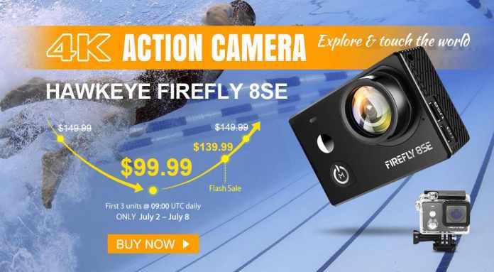 Best Action Camera on Sale! - Hawkeye Firefly 8SE