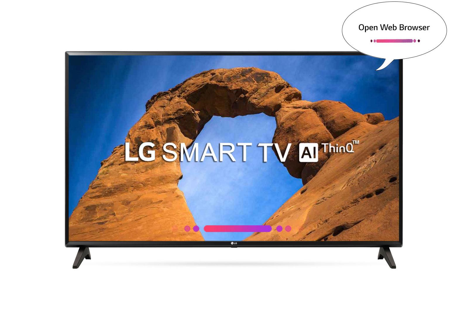 LG thin1 tv AI