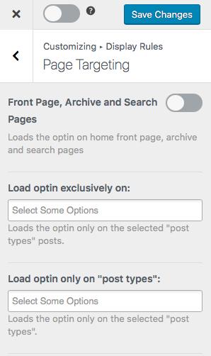 page-targeting