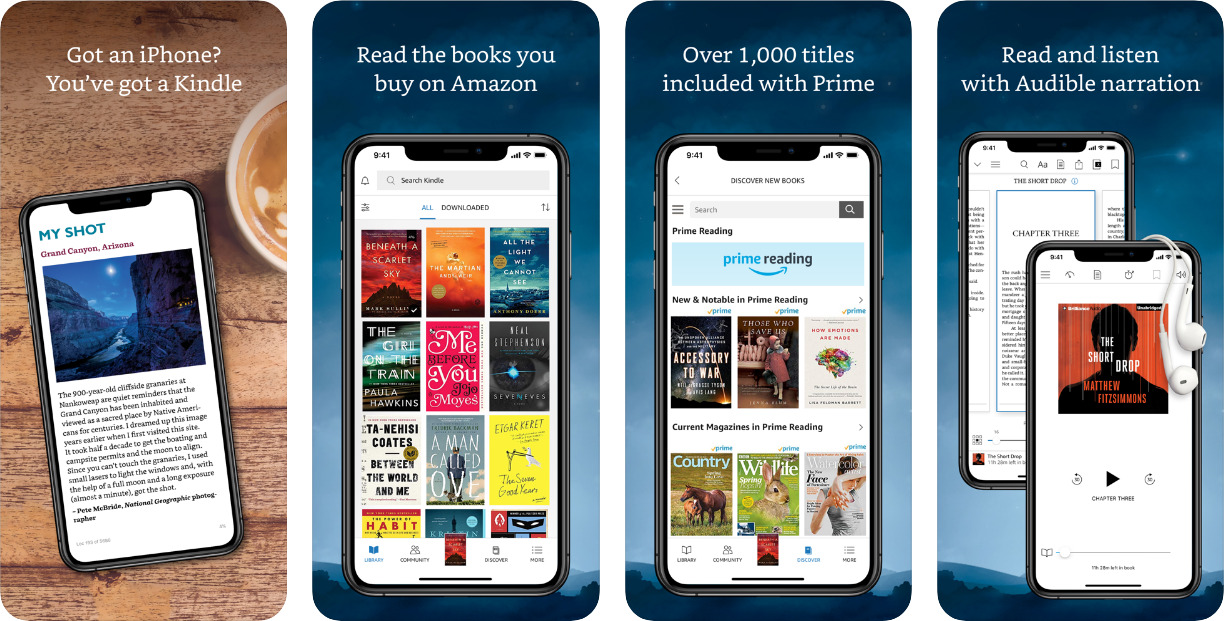 Amazon-Kindle-Best-ebook-Reader-for-iOS
