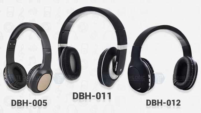 Digitek Launches 3 Bluetooth Stereo Headphones