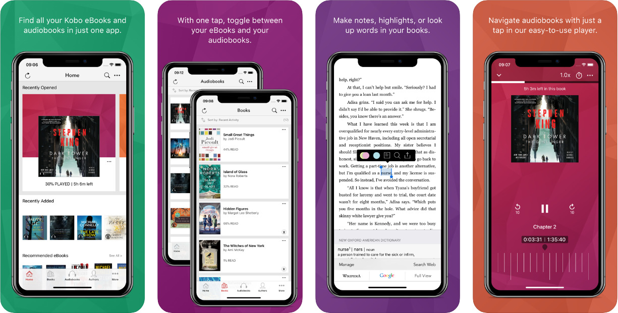 Kobo-Best-ebook-reader-for-iOS