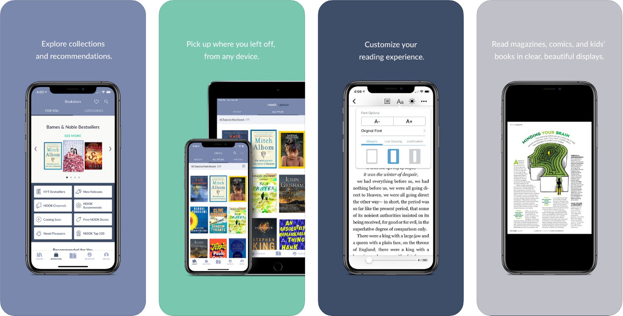 Nook-Best-ebook-reader-for-iOS