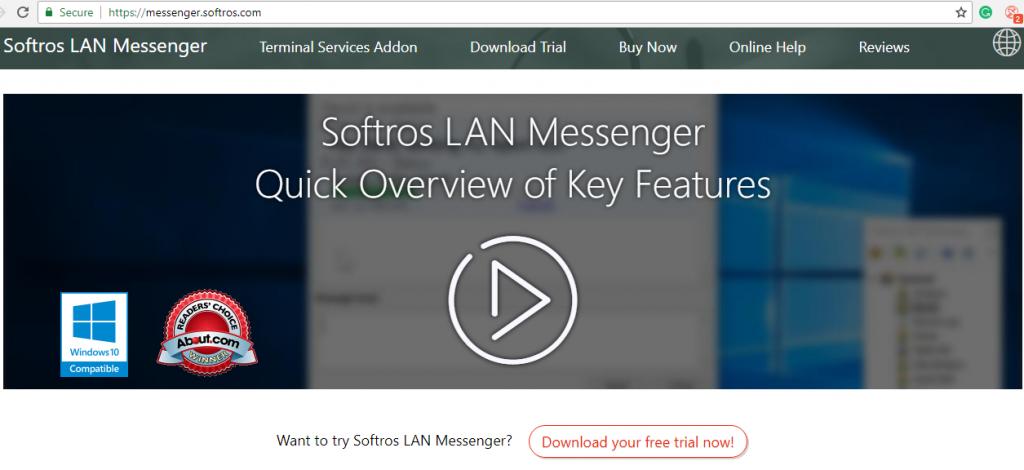 Softros LAN Messenger Setup9