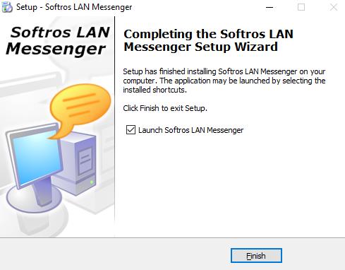 Softros LAN Messenger nstaller