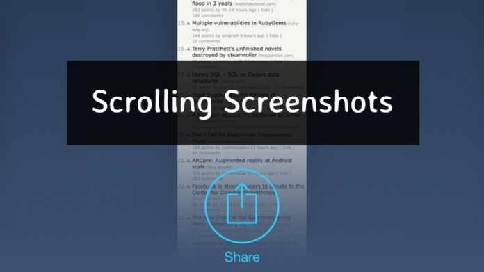 Best Android Apps for Scrolling Screenshots
