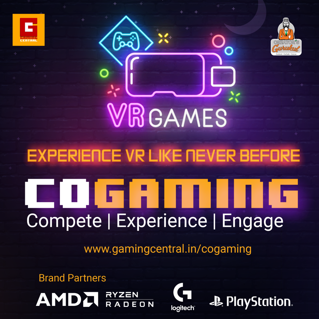 India's first Co-Gaming Zone powered by AMD