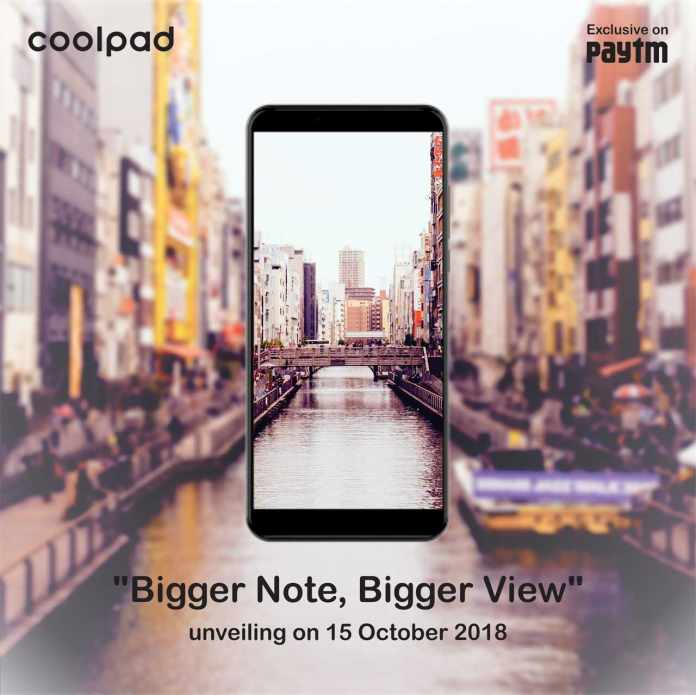 Coolpad Note 8 with Dual Camera will launch in India on 15 October