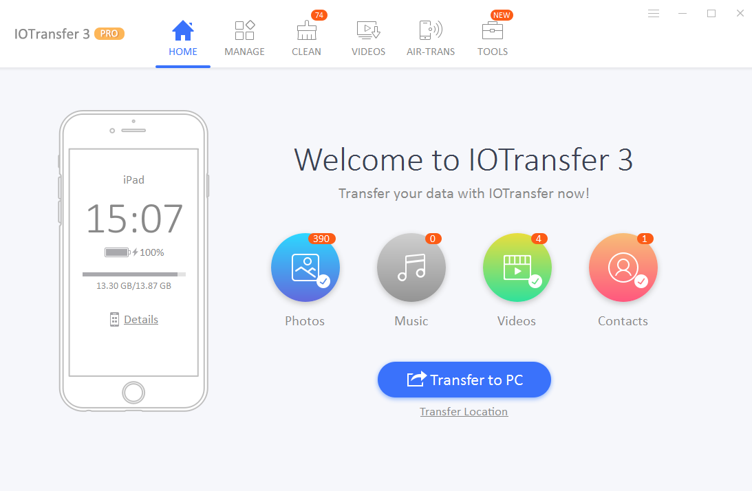 IOTransfer Review feature1