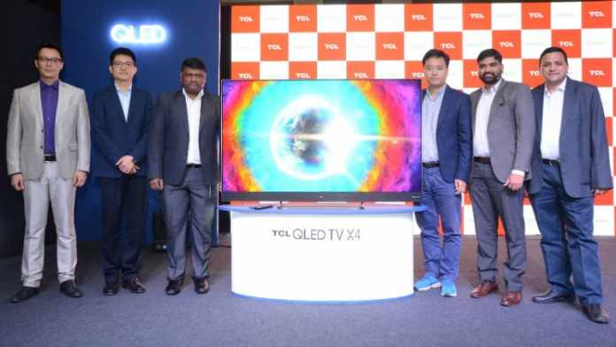 TCL 65X4 With 4K UHD Display Launched in India