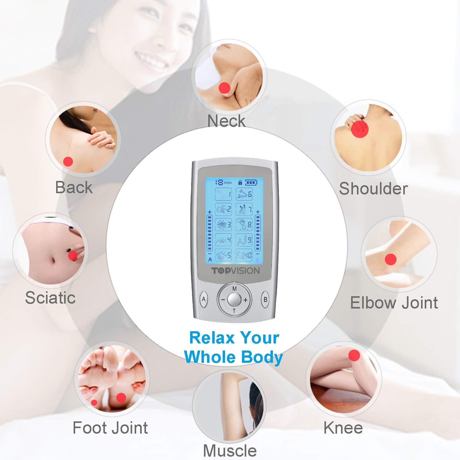 Tens Unit TOPVISION Electric