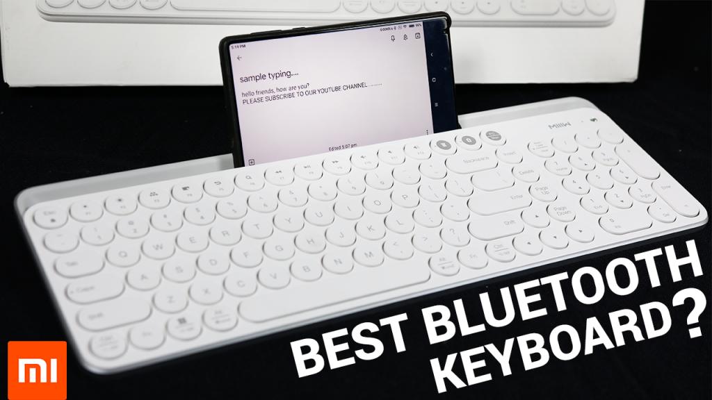 Xiaomi MIIIW Wireless Keyboard Review – Best Bluetooth Keyboard?