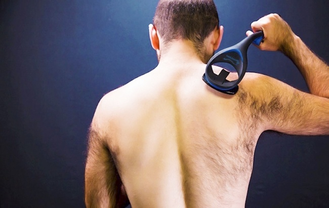 Bakblade — a shaver for back hair