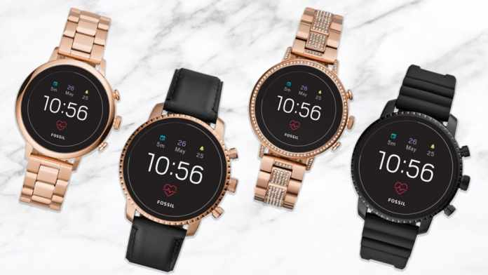 Fossil launches New Range of Smart Watches