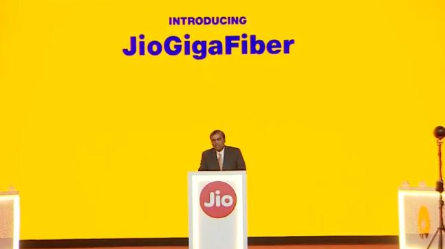 Jio GigaFiber out till Next March