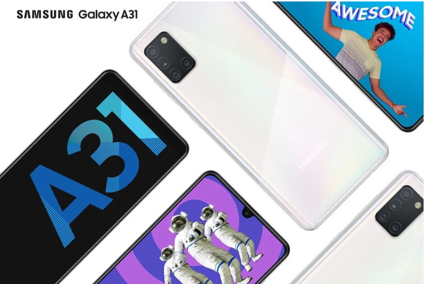 Samsung Galaxy A31 upcoming smartphone in india