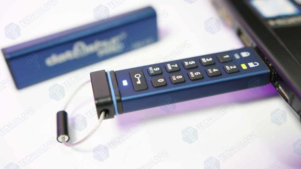 Most 256-bit Secure USB Flash Drive Ever! – iStorage datAshur Pro USB 3.0 Flash Drive