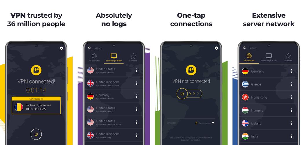 CyberGhost VPN-best-vpn-app