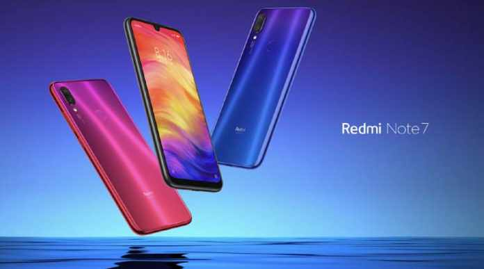 Xiaomi Redmi Note 7 Launched with 48MP
