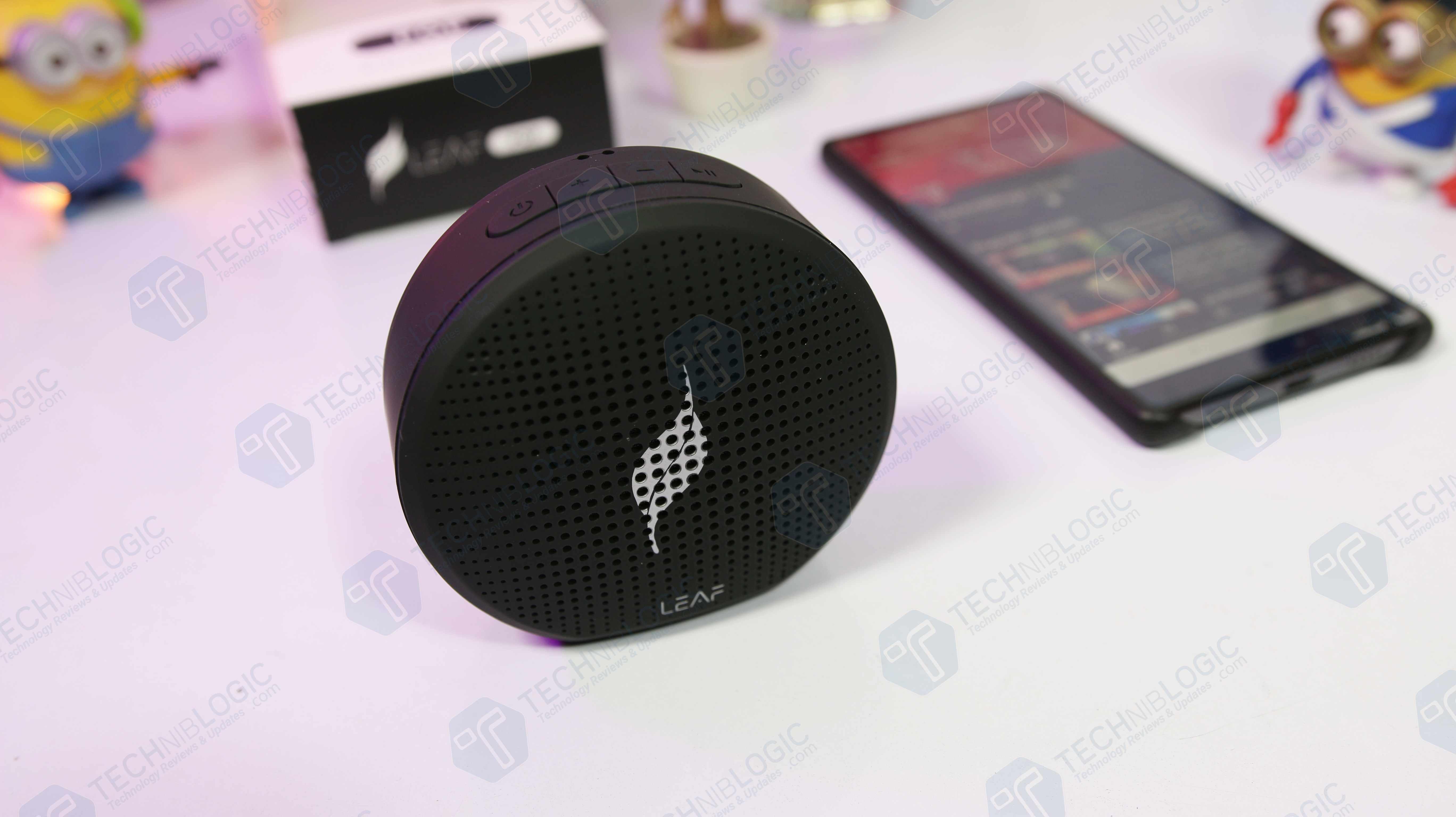 Leaf Pop Bluetooth Speaker