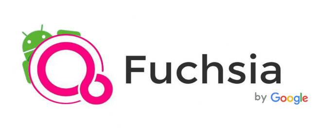 Google Fuchsia OS logo techniblogic