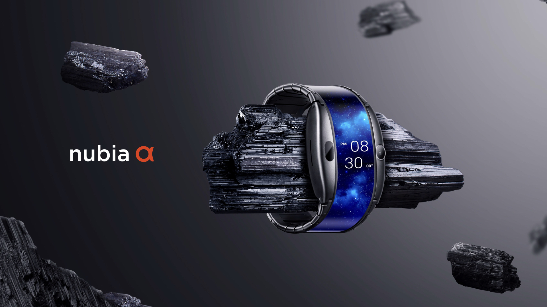 Nubia Alpha Smartwatch With Foldable OLED Display