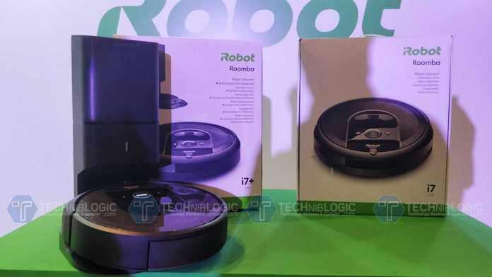 iRobot Roomba i7, i7+ Smart Robotic Vacuum Cleaners