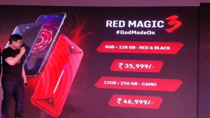 Nubia Red Magic 3 Gaming Phone