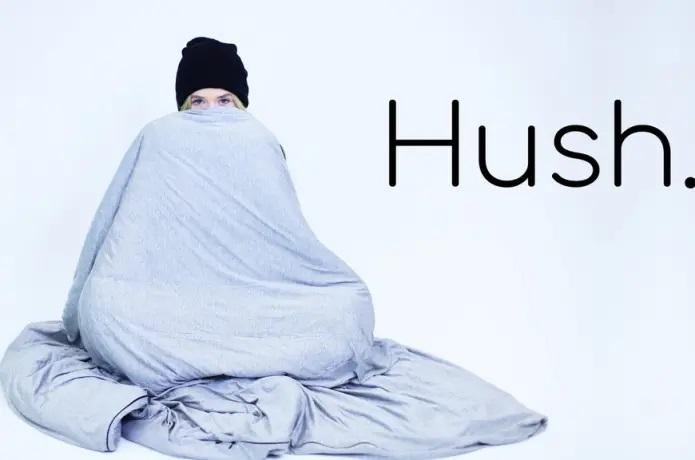 Introducing the New Hush Iced Sleep-Inducing Blanket