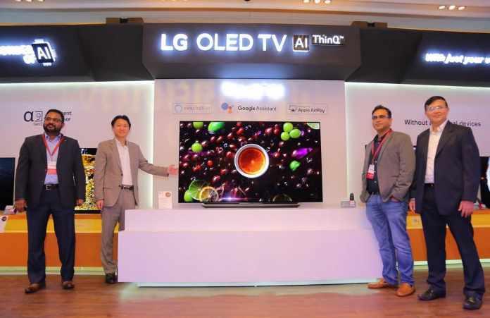 LG Launches New Range of OLED