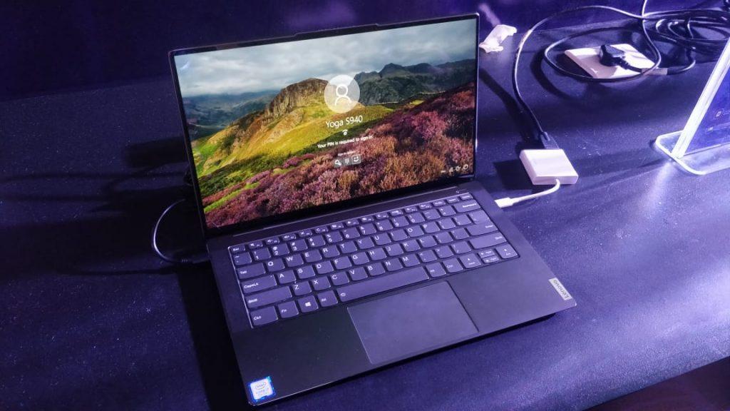 Lenovo Yoga S940 Smartest Ultraslim Laptop