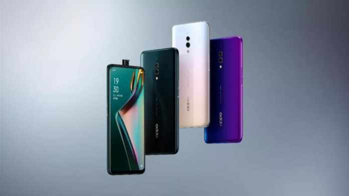 Oppo K3 with Pop-up camera and Snapdragon 710