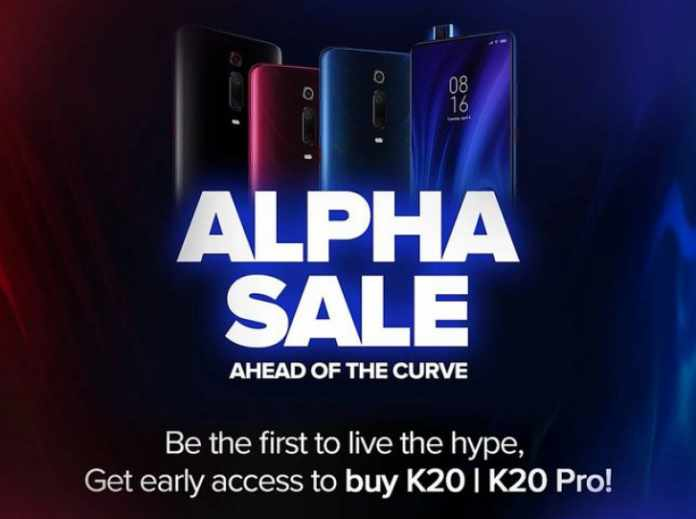 Redmi K20 and K20 Pro Pre Booking alpha sale