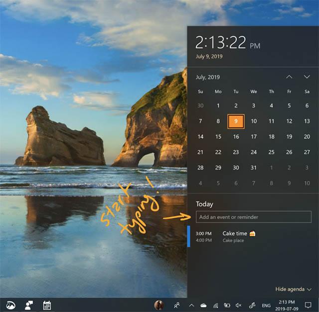 windows-10quick-add-events
