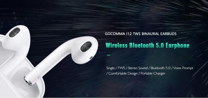 Gocomma i12 TWS Touch Control Bluetooth 5