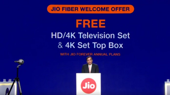 Jio GigaFiber Plans, Fiber Commercial Launch Date, Jio Set-Top Box, and More Announced 2