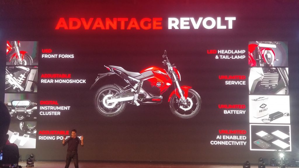 Revolt RV 400, RV 300 Electric Bikes launched specs