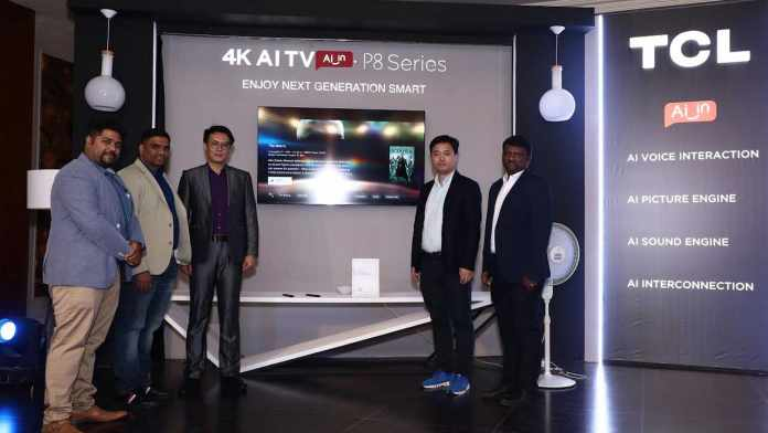 TCL launches P8 Series 4K AI Smart TV starting at Rs 27990 2