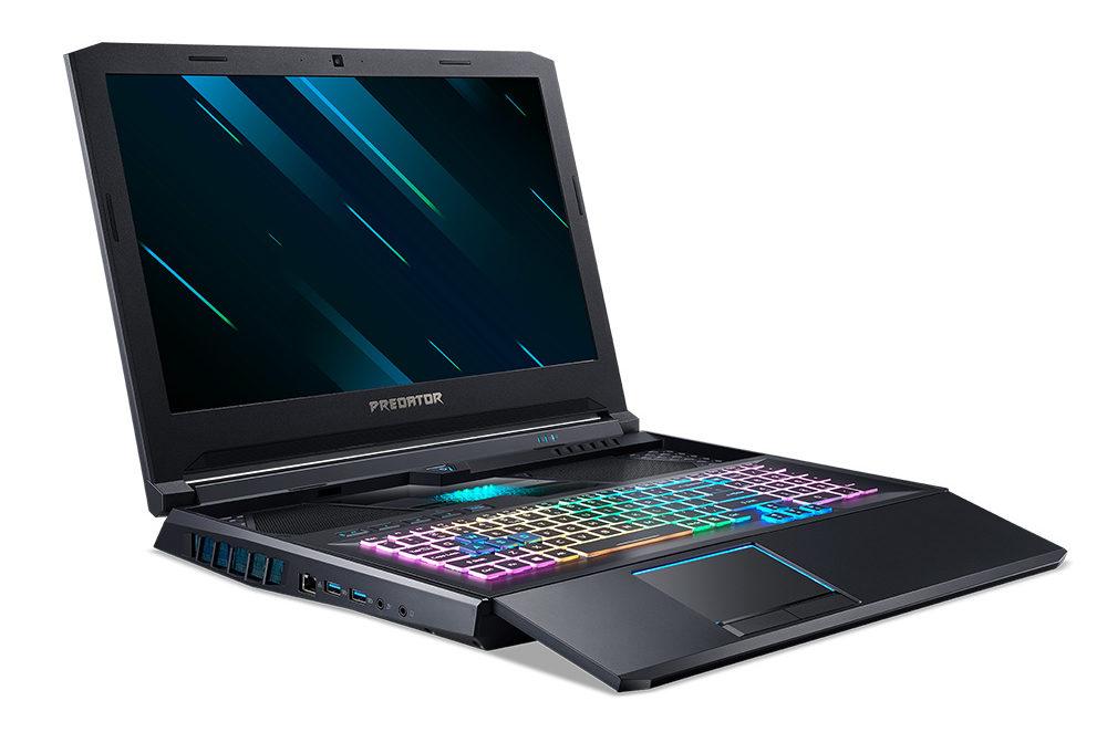 The Acer Predator Helios 700 gaming laptop