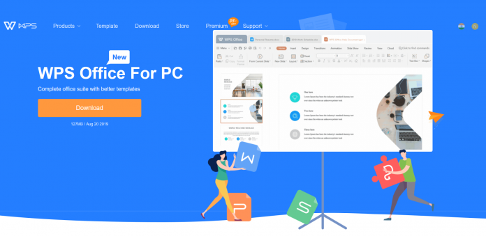 Kingsoft Office introduces office software suit WPS Office 2020